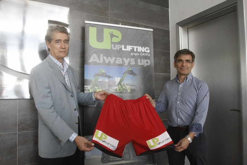UP LIFTING will sponsor Club Balonmano Huesca